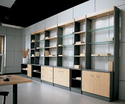 Muebles de oficina madrid - Estanterias modulares metalicas ...
